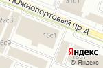 Схема проезда до компании ВТБ Лизинг в Москве