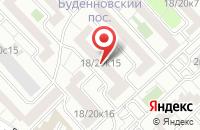 Схема проезда до компании Апикс в Москве