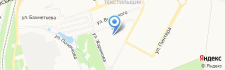 Детский сад №166 на карте Донецка