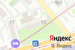 Схема проезда до компании ВСЁ ДЛЯ ПАРИКМАХЕРА в Москве
