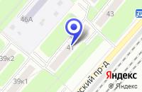 Схема проезда до компании ТФ ИНТЕРСПОРТСУВЕНИР в Москве