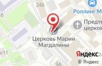 Схема проезда до компании Пчелки в Москве