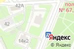 Схема проезда до компании Интеграл-Рем в Москве