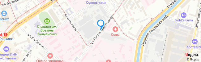 улица Матросская Тишина