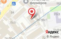 Схема проезда до компании Базальт Эстейт в Москве