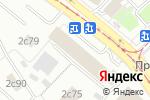 Схема проезда до компании Inoxvalley в Москве