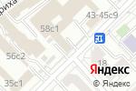 Схема проезда до компании Умные машины в Москве