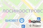 Схема проезда до компании Магазин перчаток и зонтов в Москве