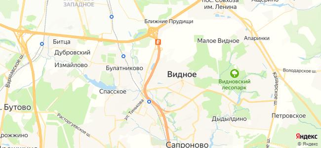 Видное - объекты на карте