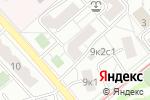 Схема проезда до компании Coream в Москве