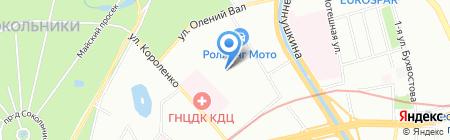 Системы и Связь на карте Москвы