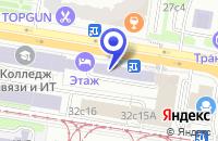 Схема проезда до компании ПТФ ЛАЙТ-ТЕСТ в Москве