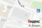 Схема проезда до компании Stails в Москве