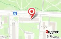 Схема проезда до компании Оргэнергосервис в Москве