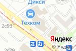 Схема проезда до компании РСТК-Логистик в Москве