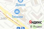 Схема проезда до компании Allhella.ru в Москве