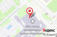 Схема проезда до компании Фонд Изобретательской Деятельности Инженерной Академии в Москве