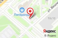 Схема проезда до компании Авалон в Москве