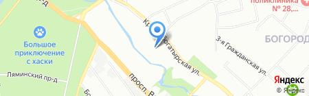 Villa Riva на карте Москвы