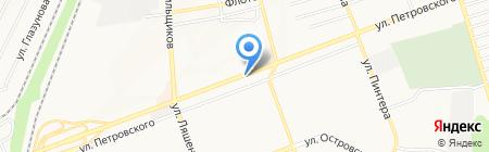 Миледи на карте Донецка
