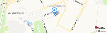 ВЕСНА на карте Донецка