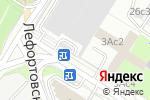 Схема проезда до компании INNISS в Москве