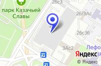 Схема проезда до компании АВТОТРАНСПОРТНАЯ ФИРМА ФАРЕР в Москве
