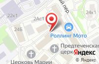 Схема проезда до компании Штурман в Москве