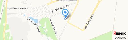 Весна-3 на карте Донецка