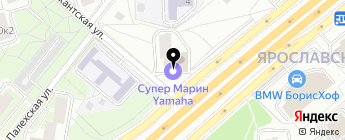СУПЕР МАРИН на карте Москвы