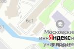 Схема проезда до компании Тепло.рф в Москве
