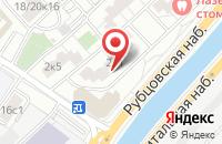 Схема проезда до компании Ассоциация Футбольных Агентов в Москве