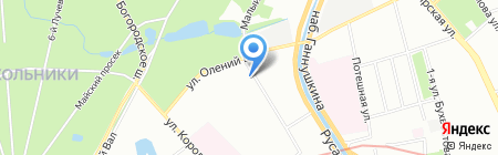 Интер Электрик на карте Москвы
