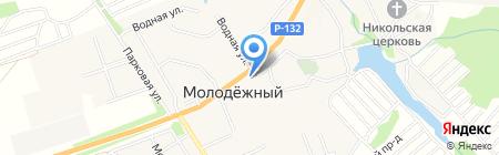 Лазаревская лавка на карте Глухих Полян