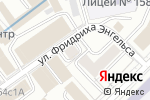Схема проезда до компании Канопус альфа киля в Москве