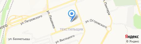 Донецкая общеобразовательная школа I-III ступеней №88 на карте Донецка