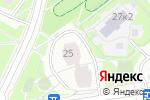 Схема проезда до компании Батт-Трейдинг в Москве
