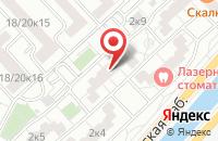 Схема проезда до компании Гран-При Спорт в Москве