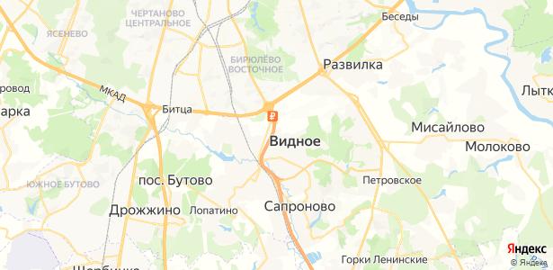 Тарычево на карте