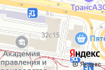 Схема проезда до компании Классика комфорта в Москве