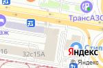 Схема проезда до компании ТАХИОН в Москве