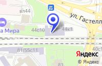 Схема проезда до компании НИИ РЕСТАВРАЦИИ (ГОСНИИР) в Москве