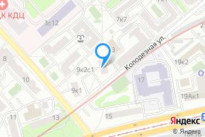 Двухкомнатная квартира в Москве ул. Короленко, 9к2