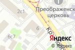 Схема проезда до компании Билам в Москве