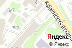 Схема проезда до компании BurAlliance в Москве