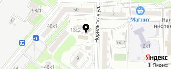 КЭС АВТО на карте Москвы