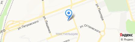 Garde-robe на карте Донецка