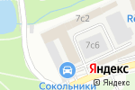 Схема проезда до компании Евро Строй в Москве