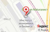 Схема проезда до компании Ист Юроуп Групп в Москве