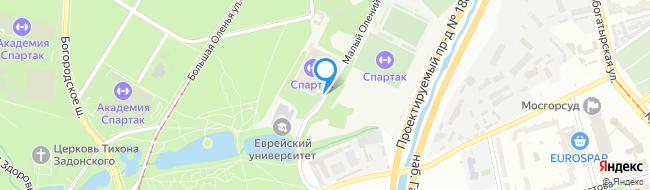Малый Олений переулок